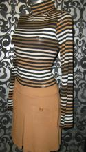 Платье Stradivarius полосатый