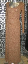 Платье Stradivarius коричневй