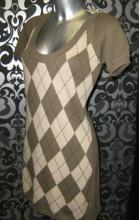 Туника-платье Stradivarius фисташковый